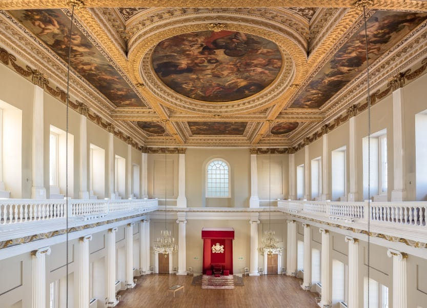 Historic Royal Palaces and Second Canvas Banqueting House, Whitehall: a case study. Part I