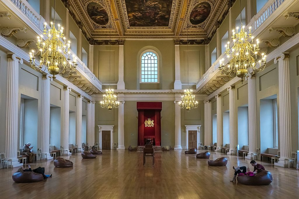 Banqueting House, Whitehall. Image: Grahampurse