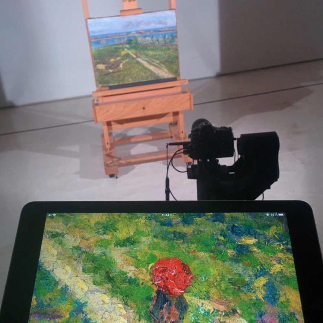 Digitizing at Carmen Thyssen Museum